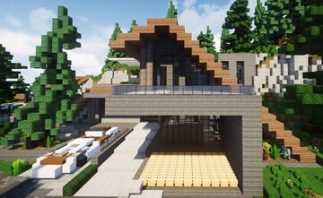 Modern House |MFC| - With interior Minecraft Map & Project