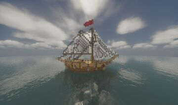 Historically-Accurate Sloop Minecraft Map & Project