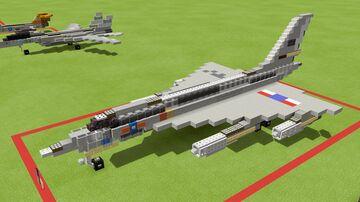 B-58A Hustler Minecraft Map & Project