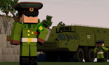Army of the Soviet Union 1988 / Soviet military uniforms Minecraft Map & Project