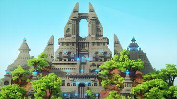 Maya temple Minecraft Map & Project