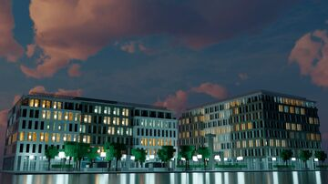 Small Contemporary Office Complex - 1 Minecraft Map & Project