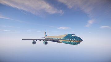 Air Force One Minecraft Map & Project