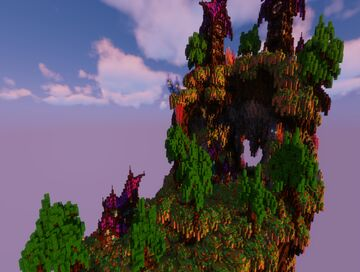 Crystalized Elements - A Floating Island Minecraft Map & Project