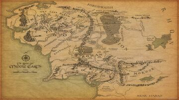 -Middle Earth Creation- Minecraft Map & Project