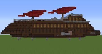 Jabba's Sail barge | Minecraft 1.12.2 [DOWNLOAD] Minecraft Map & Project