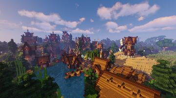 Spruce Village - Transformation Minecraft Map & Project