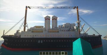 SS Angara Minecraft Map & Project