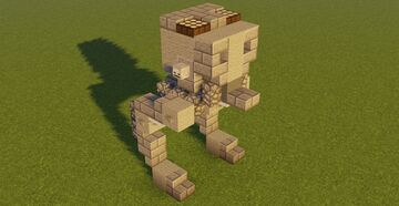 STAR WARS All Terrain Scout Transport Minecraft Map & Project
