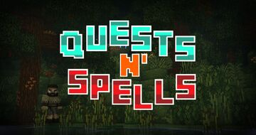 Quests n' Spells - AdventureMap PreAlpha Minecraft Map & Project