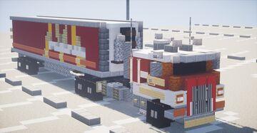 Peterbilt 362 Minecraft Map & Project