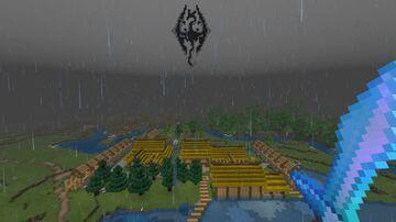 Riverwood - Skyrim (Dragonwood) Minecraft Map & Project
