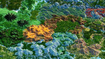 The Lands of Anenon (8k x 8k Custom Terrain) Minecraft Map & Project