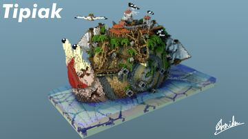 Tipiak The Snail Minecraft Map & Project