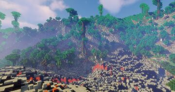 Tropical Volcano Island Minecraft Map & Project