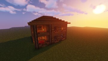Small wooden house Minecraft Map & Project