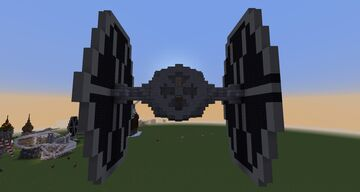 TIE-Fighter Minecraft Map & Project