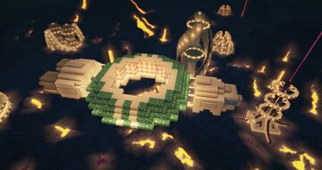 Minecraft Futuristic Shuttle - Minecraft Spaceship - Minecraft Futuristic Space Shuttle Minecraft Map & Project