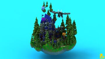 Grand Castle Spawn Minecraft Map & Project