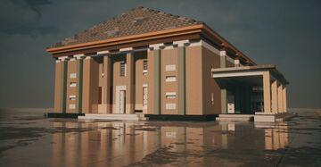 Soviet Moldovan town hall Minecraft Map & Project