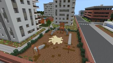 Modern Apartment Complex Minecraft Map & Project