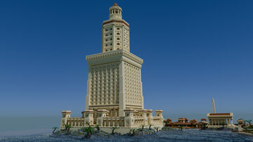 The Lighthouse of Alexandria Minecraft Map & Project