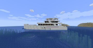 The LEGENDARY - Modern Yacht Minecraft Map & Project