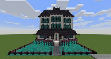 Victorian style nether house Minecraft Map & Project