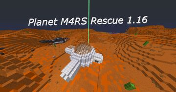 Planet M4RS Rescue [1.16.5] Minecraft Map & Project