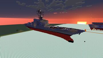 strike cruiser Minecraft Map & Project