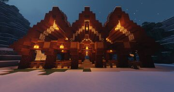 Ecurie Viking - Viking Stable Minecraft Map & Project