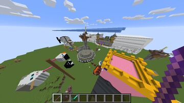 Airshow PvP thingy Minecraft Map & Project