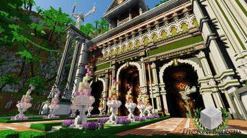TheReawakens - Angels Temple ~ A Jungle Palace ~ Timelapse Minecraft Map & Project