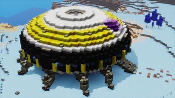 Frieza's Ship (dbz variant) Minecraft Map & Project