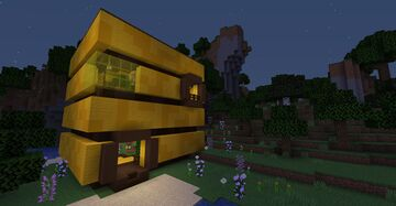 Bee Nest House Minecraft Map & Project