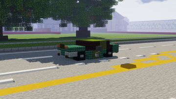 Audi RS5 Minecraft Map & Project