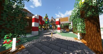 Christmas Build Competition Minecraft Map & Project