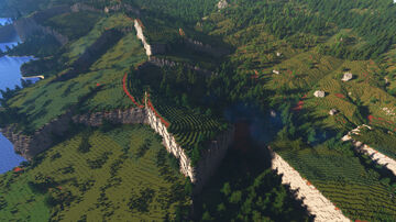 Island of the ancient titans - WorldMachine Minecraft Map & Project