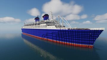 Ss America (remastered) June 1978 Minecraft Map & Project