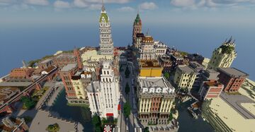 The Free City of Pacem Minecraft Map & Project