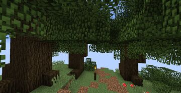 Foraging farm Hypixel Skyblock Minecraft Map & Project
