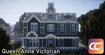 Queen Anne Victorian #2 - Larimer | Carlton Minecraft Map & Project