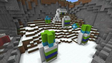 HiddenValley Ranch Zoo enclosure Minecraft Map & Project