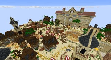 Survival Spawn Minecraft Map & Project