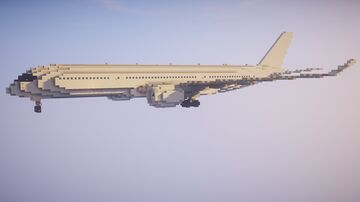 1,5:1 Airbus A350-900 + Liveries Minecraft Map & Project