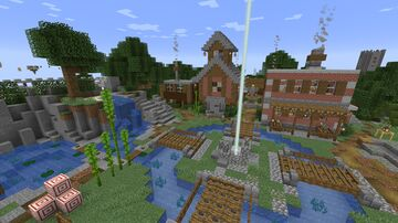 SkyHoppers Beta 1.0.1 Minecraft Map & Project