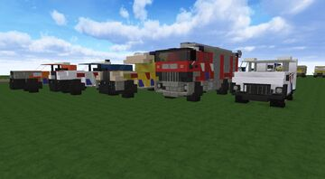 Dutch Emergency Vehicles Pack [POLICE][FIRE][EMS][KMAR][LIFEGUARD] + [DOWNLOAD] Minecraft Map & Project
