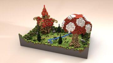 LiteMushroom - 1v1 PvP Map Minecraft Map & Project
