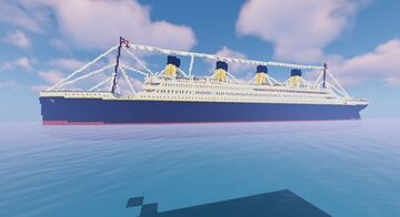 RMS Titanic (WIP) Minecraft Map & Project