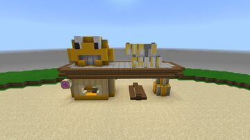 Fallout Miami Pop & Chill stand Minecraft Map & Project
